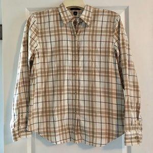Plaid CHAPS long sleeve button down shirt